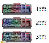 Комп'ютерна ігрова клавіатура KEYBOARD K33 з підсвічуванням і Мишкою, фото 8