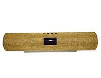 Беспроводная колонка портативная с Bluetooth S608 золотистого цвета стерео акустическая влагозащитная.