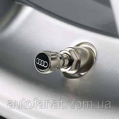 Оригинальный комплект колпачков на ниппель Audi Valve Stem Caps MY2019 (80A071215)