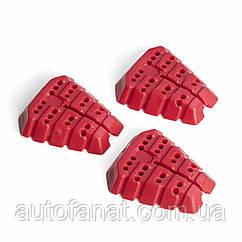 Cменные картриджи Audi, комплект 3шт красные оригинал (81A087009A)