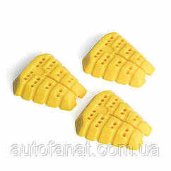 Cменные картриджи Audi, комплект 3шт желтый оригинал  (81A087009B)