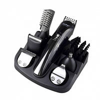 Машинка триммер для стрижки волос KEMEI KM-600, Профессиональный набор KEMEI KM-600