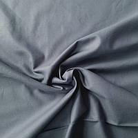 Натуральна тканина темно-сіра, ш. 160 см, фото 1