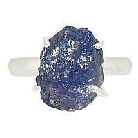 Серебряное кольцо с Танзанитом самородок, 1628КТ