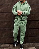 Спортивный костюм мужской ОВЕРСАЙЗ весенний осенний мятный | Комплект Кофта + Штаны ЛЮКС качества, фото 1