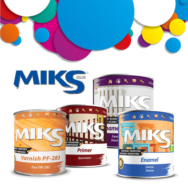 MIKS color Лакокрасочная продукция