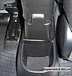 Подлокотник Armcik S2 со сдвижной крышкой и регулируемым углом наклона для Toyota Yaris III 2010-2013, фото 8