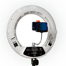 """Кільцева світлодіодна лампа Yidoblo FD-480ll кільцевої світло для фото, відео 18"""" 45 см 96W Селфі кільцева, фото 2"""