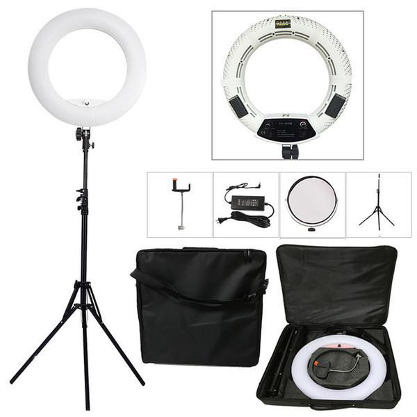 """Кільцева світлодіодна лампа Yidoblo FD-480ll кільцевої світло для фото, відео 18"""" 45 см 96W Селфі кільцева"""