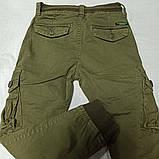 Штаны карго демисезонные модные оригинальные красивые  для мальчика. Низ штанов на манжете., фото 2