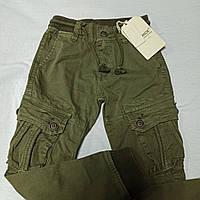 Штаны карго демисезонные модные оригинальные красивые для мальчика. Низ штанов на манжете.