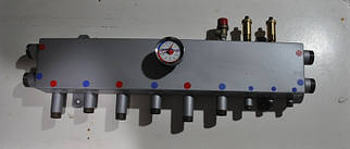 Колектор для опалення (на 3 виходи) в 1 болванці