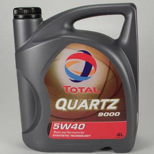 Масло моторне 5W-40 4л TOTAL Quartz 9000