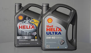 Масло трансмісійне SHELL Helix Ultra 5W40 4л