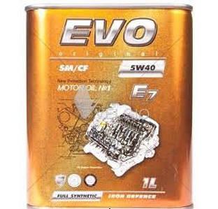Масло моторне EVO 5W40 E7 SM/CF (4л)