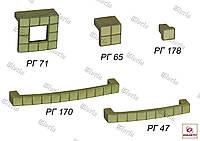 Ручки мебельные РГ 71, РГ 65, РГ 47, РГ 170, РГ 178, фото 1