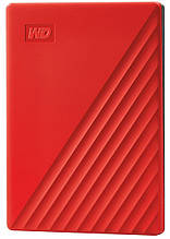 """HDD ext 2.5"""" USB 4.0TB WD My Passport Red (WDBPKJ0040BRD-WESN)"""