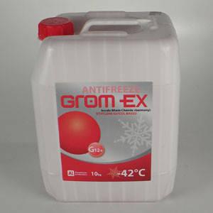 Антифриз GROM-EX -42С (червоний) 10кг