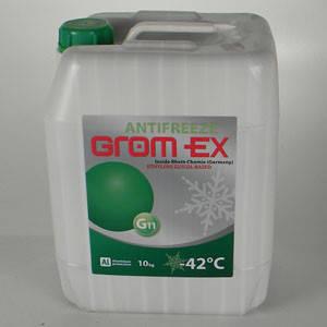 Антифриз -42С (зеленый) 10кг (пр-во GROM-EX Германия) АХ