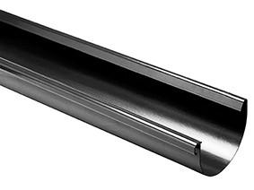 Жолоб водостічний 100х3000 графітний (3060042339)