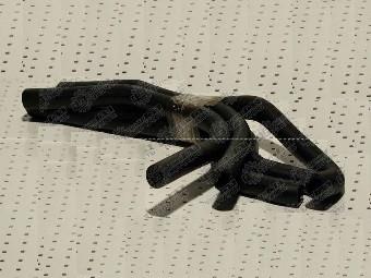 Патрубок пічки Газель дв.4215 (5шт)