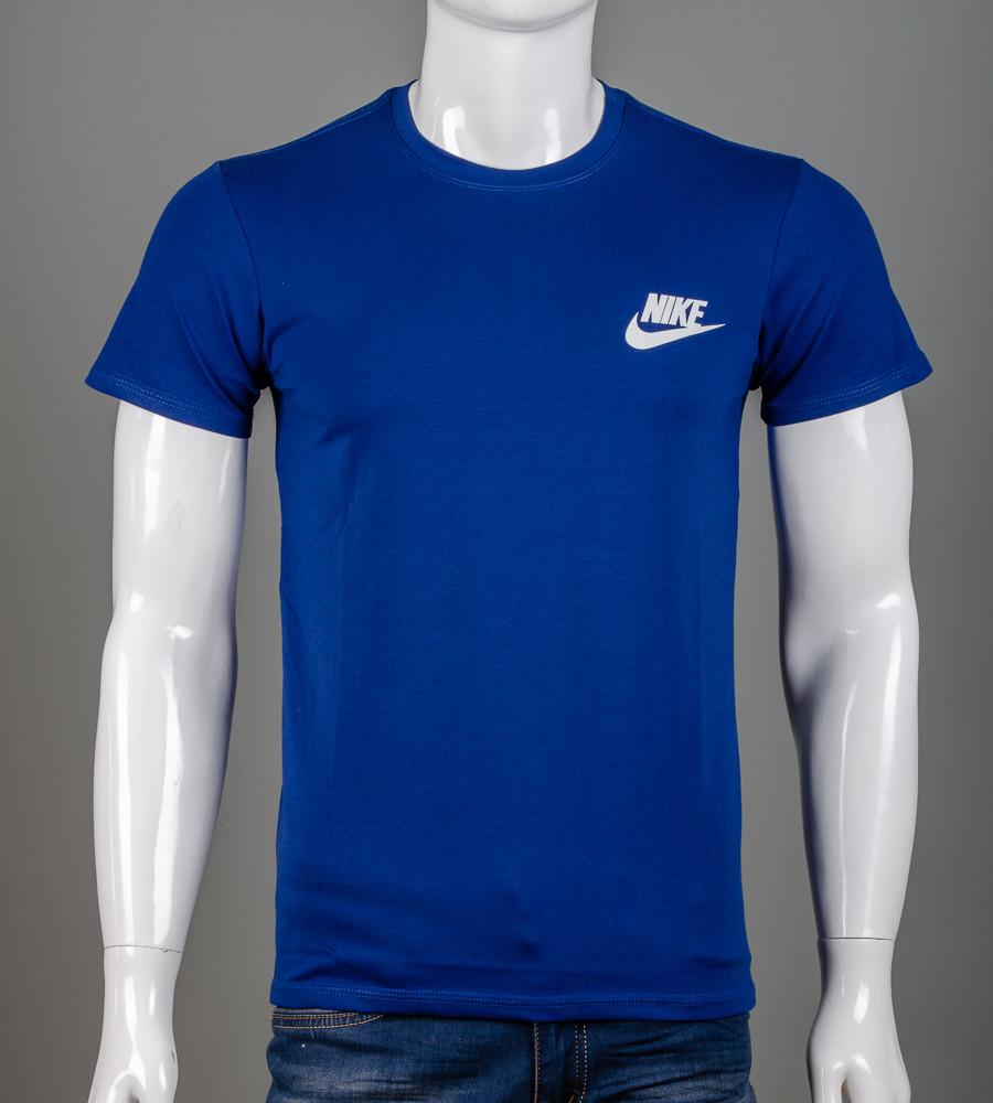 Футболка мужская NIKE (2109м), Синий