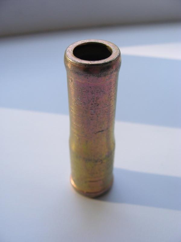 Двойник для шланг 16х18мм (под хомут) перехожник метал (пр-во Россия) М 0742363