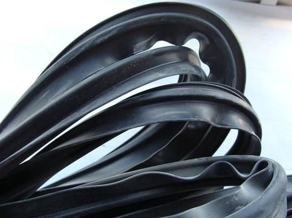 Уплотнитель стекла Газель NEXT ветрового (пр-во ГАЗ) М 131392, фото 2