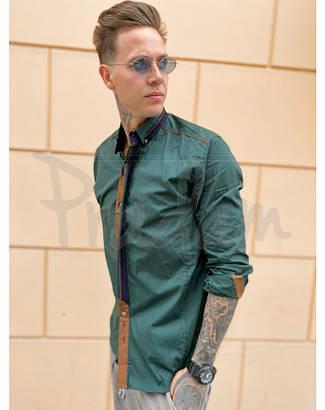 Рубашка мужская больших размеров плотная коттоновая высокого качества SPORTSMAN, Турция, фото 2
