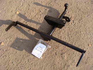 Фаркоп ВАЗ 21099 кований з кріпленням (до лонжерону) (пр-во Украина) ПД 24493