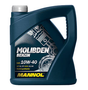 Масло Mannol Germany Molibden Benzin 10W-40