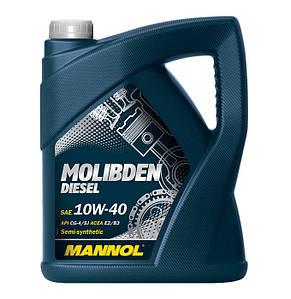 Масло Mannol Germany Molibden Diesel 10W-40
