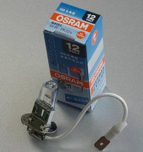 Лампа H3 12v 55w (пр-во OSRAM)