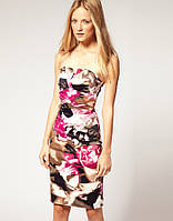 Оригинал. Полная распродажа. Платье Karen Milee абстрактной расцветки KM70221