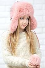 Дитяча шапка для дівчинки Фіона Україна Xs-022 Помаранчевий