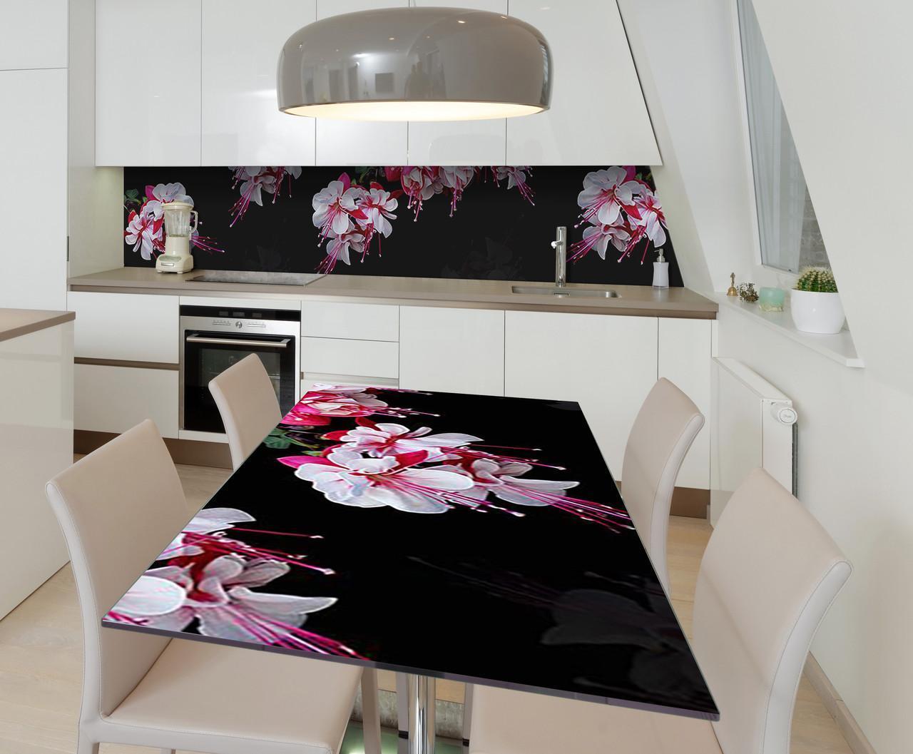 Наклейка 3Д виниловая на стол Zatarga «Лёгкость бытия» 650х1200 мм для домов, квартир, столов, кофейн, кафе