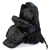 Рюкзак городской спортивный мужской большой 50*35 см Power In Eavas 8211 черный с синим, фото 2