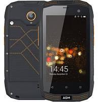 "Смартфон AGM A2 2/16Gb Black, 8/2 Мп, 4"" IPS, Snapdragon 210, IP68, 2600 mAh, 4G"