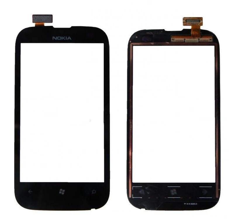 Сенсор (Тачскрін) для Nokia Lumia 510 (Чорний) Оригінал Китай