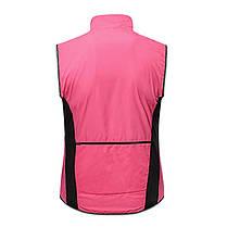 Жилет без рукавов X-Тiger XM-WGY-00103 Pink XL велосипедный веложилет, фото 2