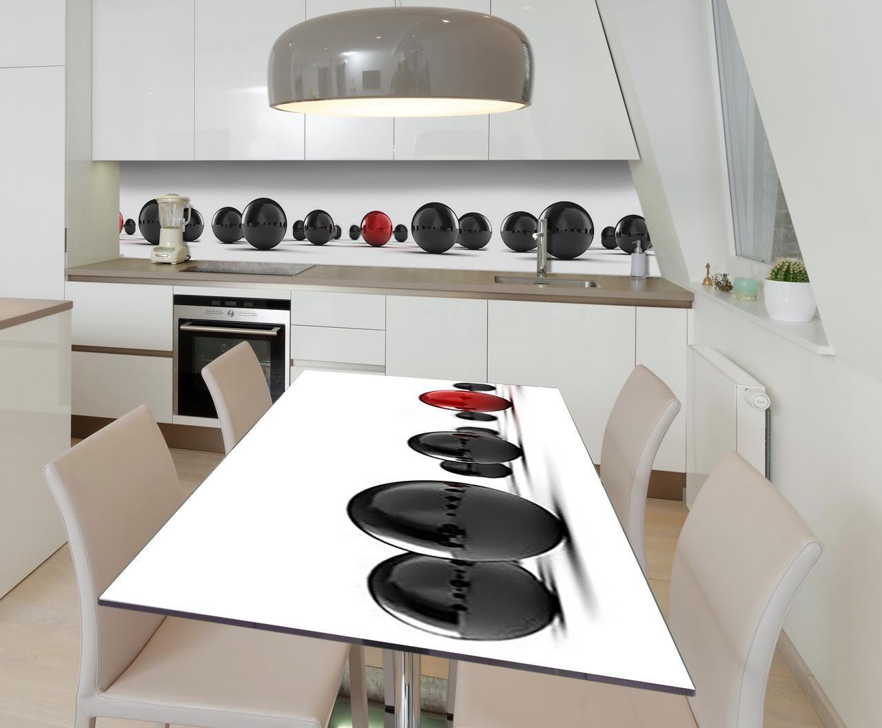 Наклейка 3Д виниловая на стол Zatarga «Исключительный» 650х1200 мм для домов, квартир, столов, кофейн, кафе