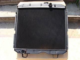 Радіатор водяного охолодження ПАЗ 3205 алюміній