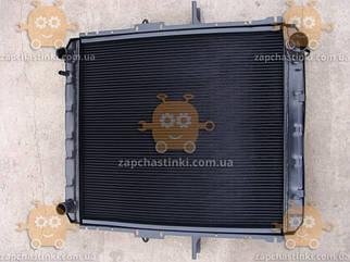 Радіатор охолодження МАЗ 54325 (4-х рядний алюміній) (основний радіатор) (пр-во Росія)