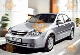 Ветровики Chevrolet Lachetti седан 2004-2013 (скотч) ANV