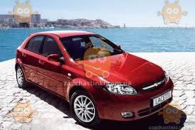 Ветровики Chevrolet Lachetti хетчбек 2004-2013 (скотч) AV-Tuning