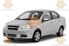 Ветровики Chevrolet Аvео ІІІ, Vida (T250) седан 2006-2012 (скотч) AV-Tuning