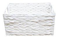 Корзина стеллажная Handy Home, металлическая, белая, 33х23х16 см (FB-59M), фото 1