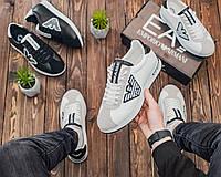 Кросівки EA7 Emporio Armani Cortez White-Black рр 40-44   Армани кроссовки купить, Армані Кросівки