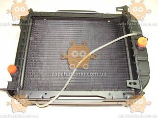Радіатор охолодження ЮМЗ з двигуном Д65 (4-х рядний алюмінієвий) (радіатор основний) (пр-во ДК Україна)