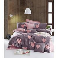 Постельное белье Lotus Home Perfect Ranforce - Hearts полуторный
